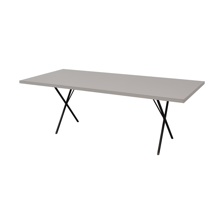 Herman Miller George Nelson X-Leg Dining Table / Dinner Tables