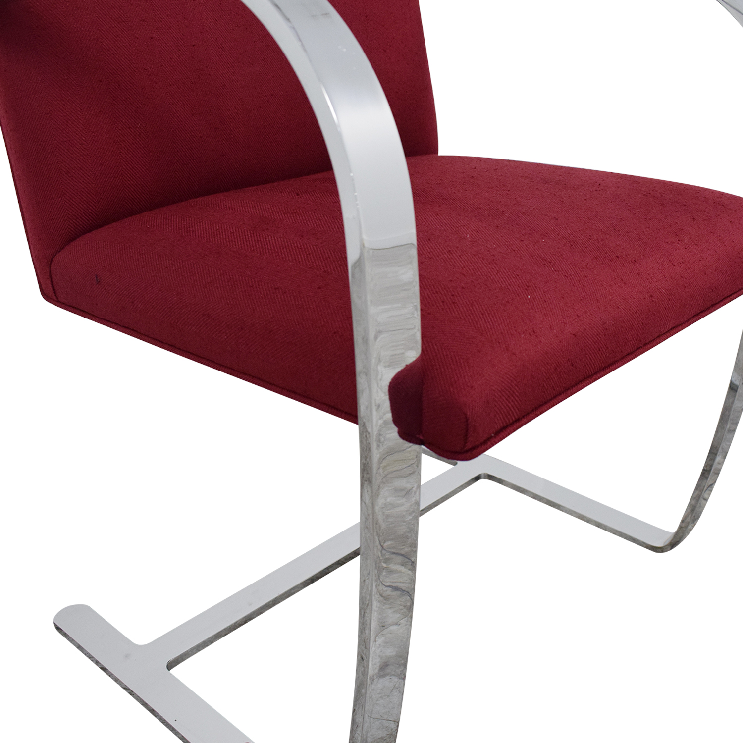 buy Knoll BRNO Chair with Flat Bar Frame Knoll Accent Chairs
