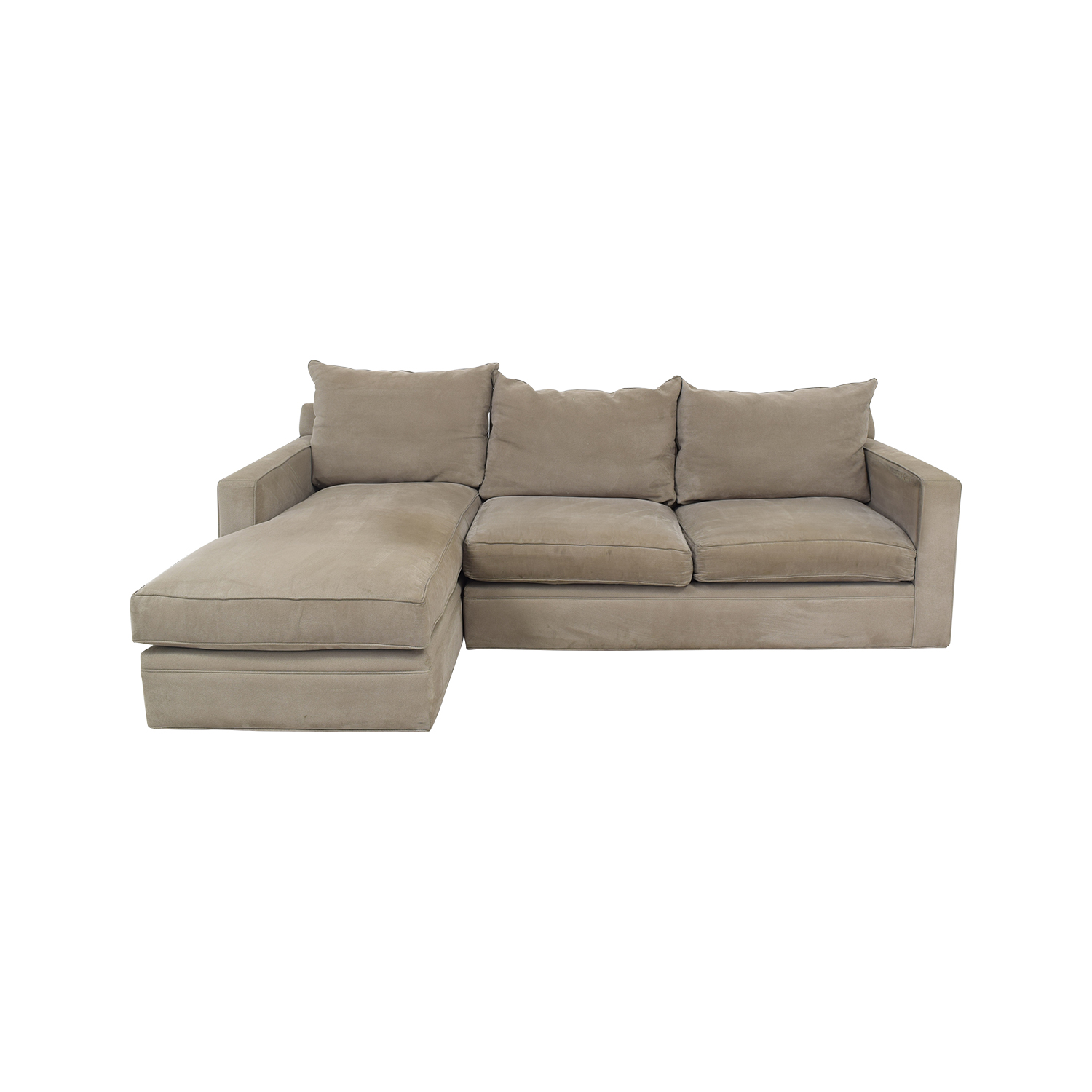 Room & Board Room & Board Orson Chaise Sectional Sofa dimensions