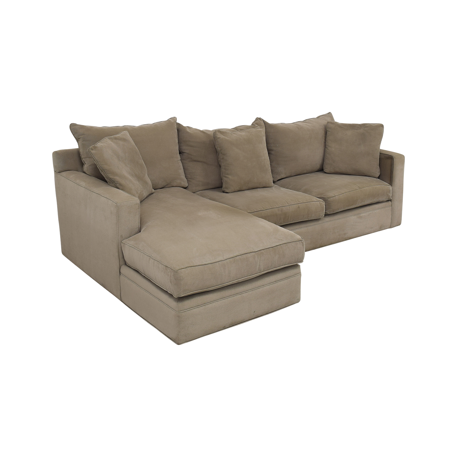 67% OFF - Room & Board Room & Board Orson Chaise Sectional Sofa / Sofas