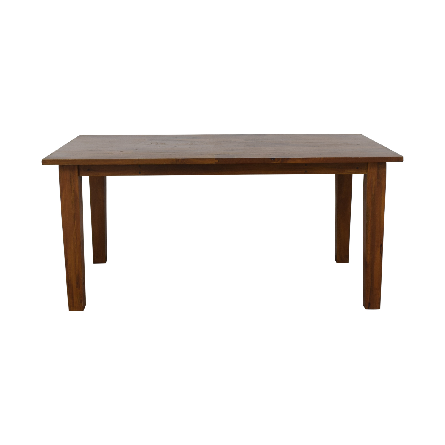 38 Off Crate Barrel Basque Honey Dining Table Tables