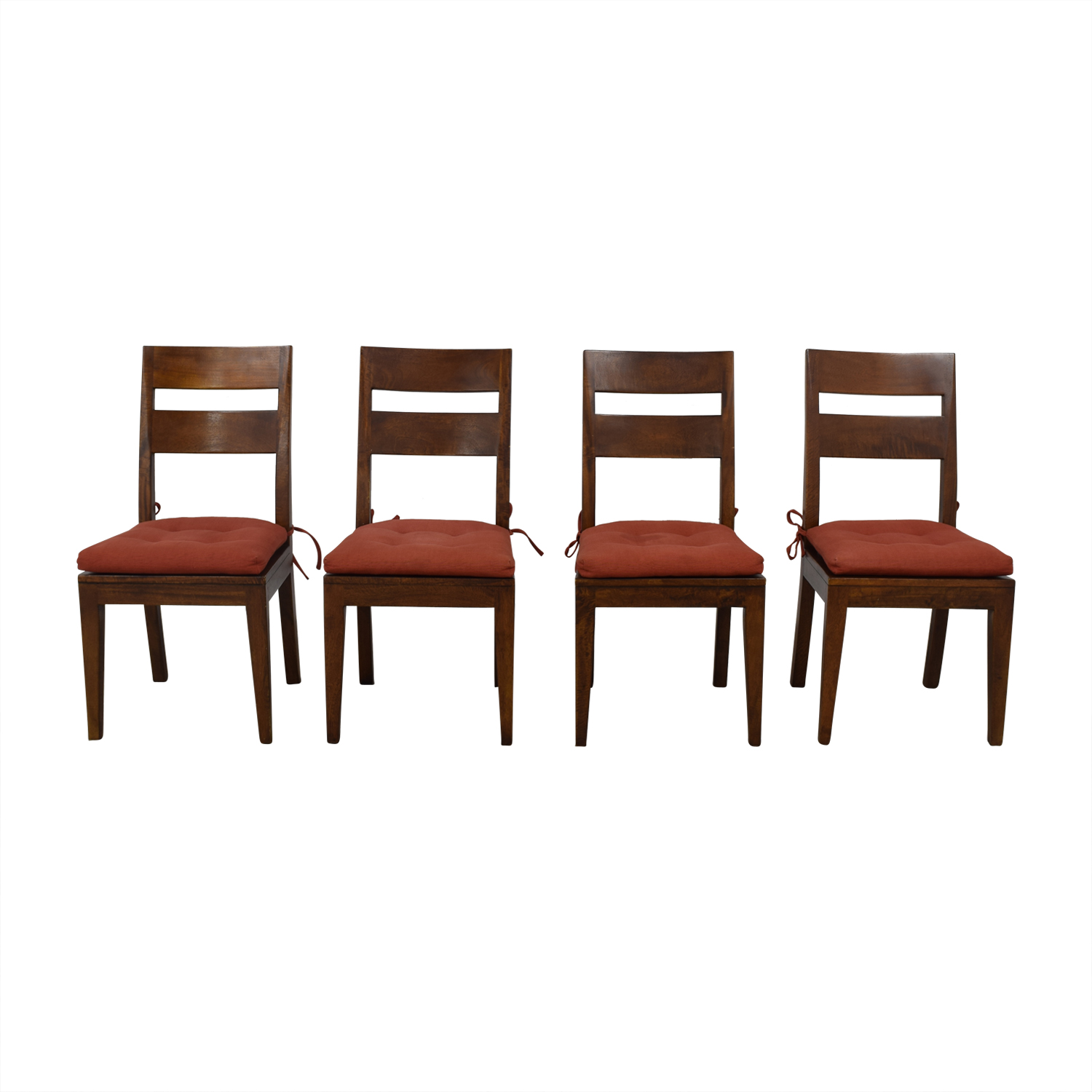 Crate & Barrel Crate & Barrel Basque Honey Dining Chairs Dining Chairs