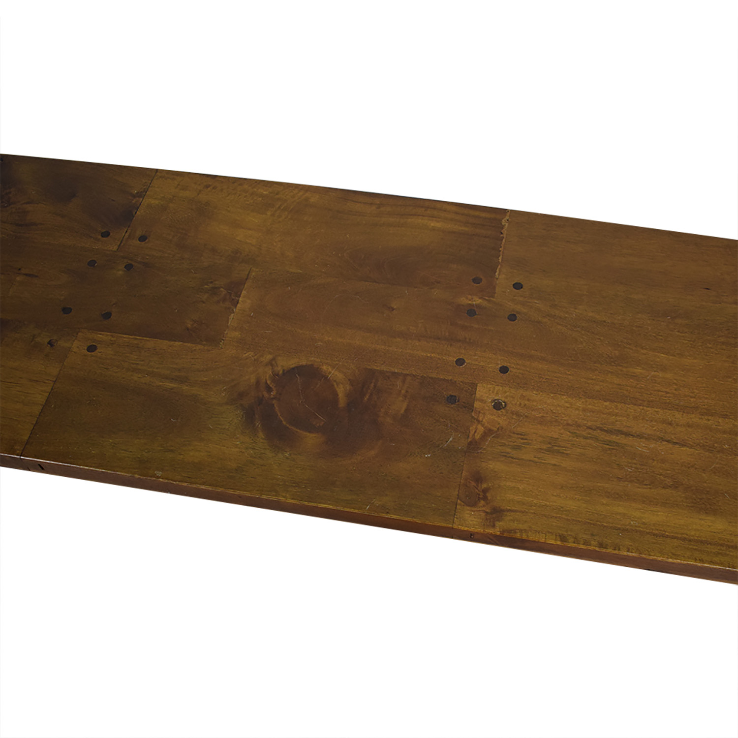 Crate & Barrel Crate & Barrel Basque Honey Dining Bench Benches