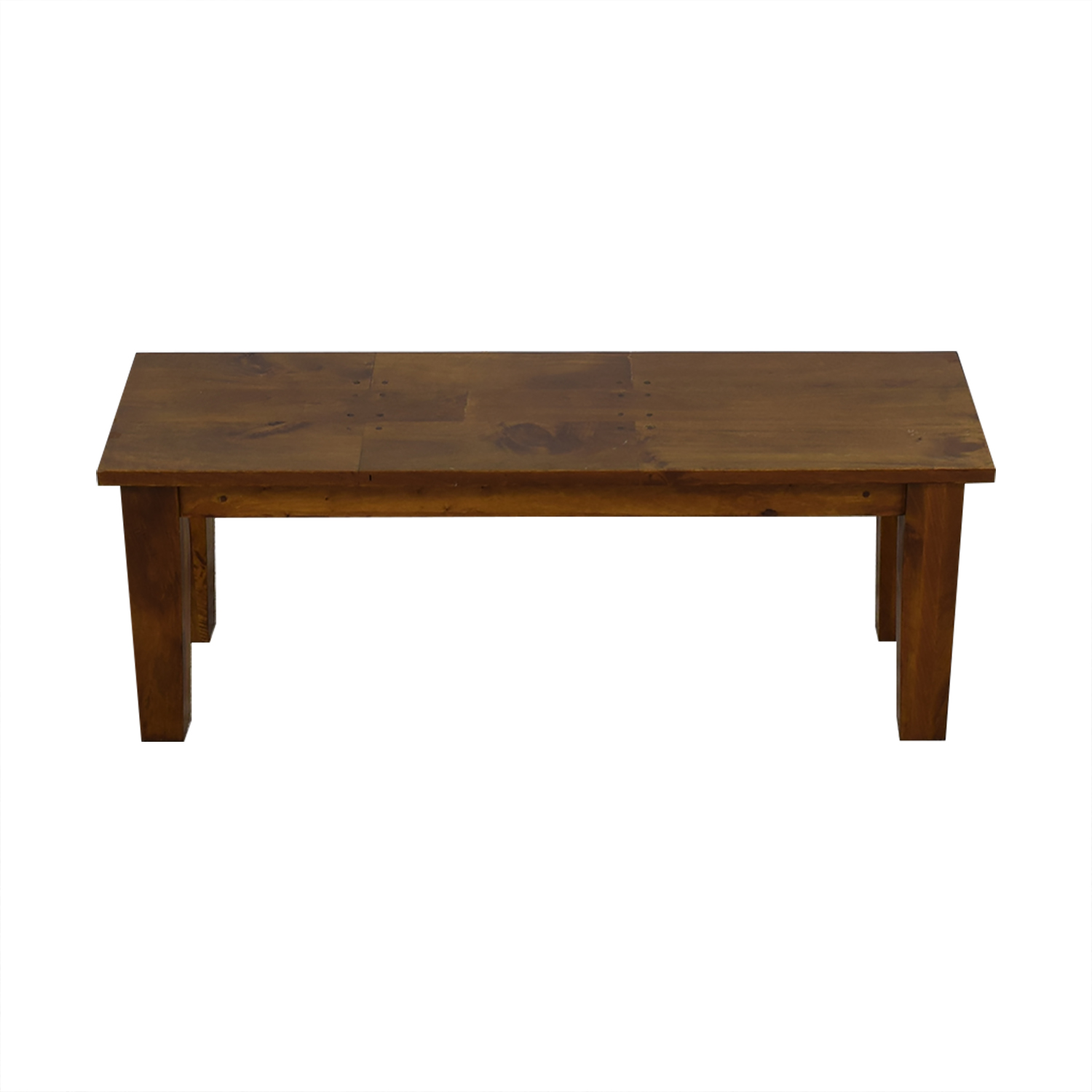 Crate & Barrel Basque Honey Dining Bench / Chairs