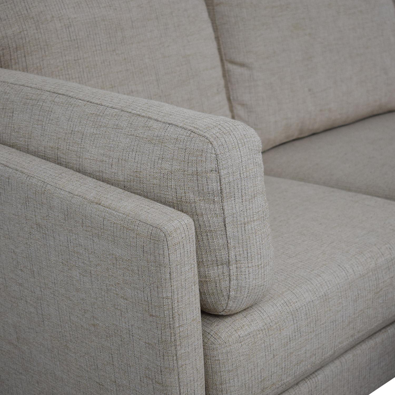 Awe Inspiring 54 Off Cost Plus World Market World Market Noelle Sofa And Ottoman Sofas Ncnpc Chair Design For Home Ncnpcorg