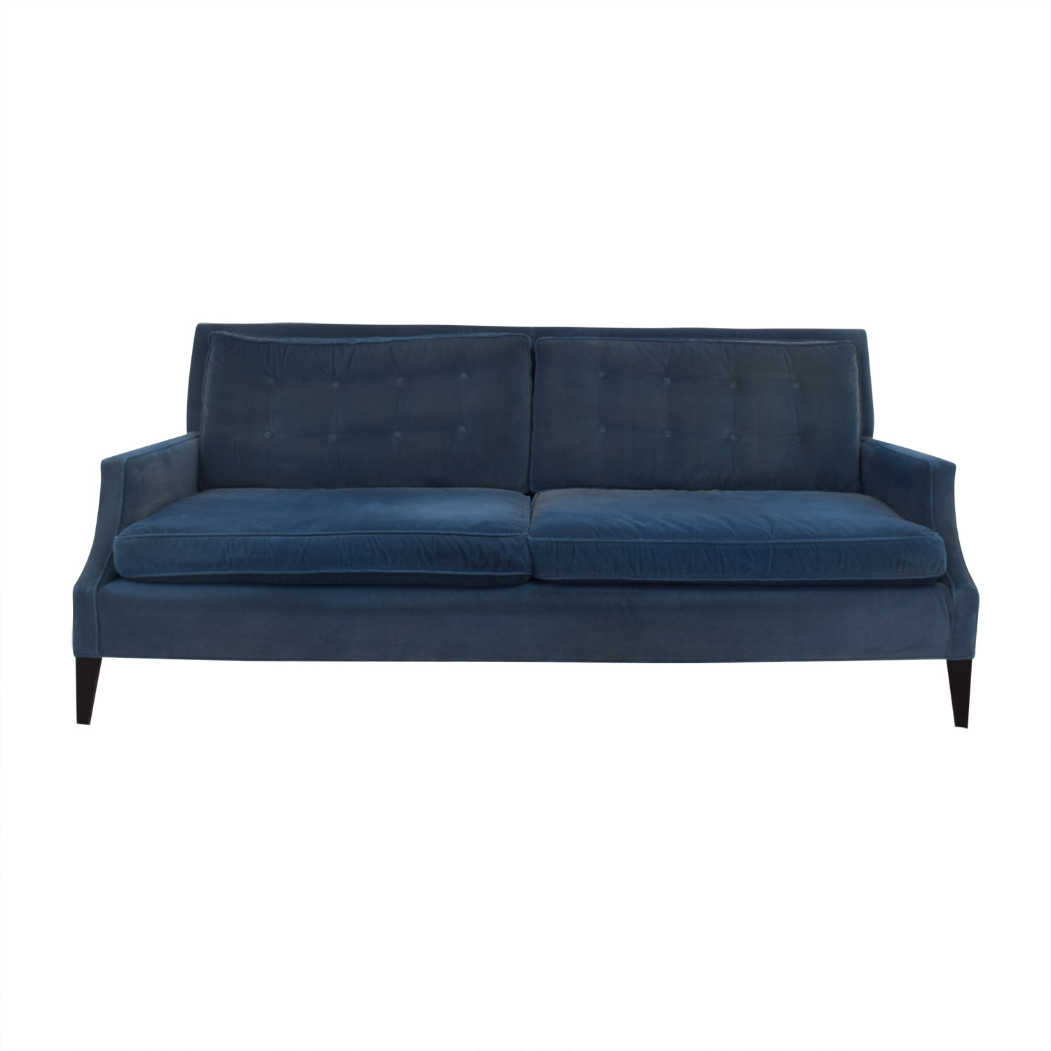 Mitchell Gold + Bob Williams Velvet Sofa sale