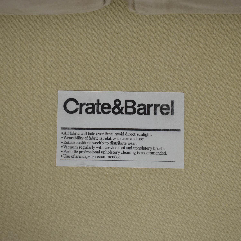 Crate & Barrel Crate & Barrel Loveseat on sale