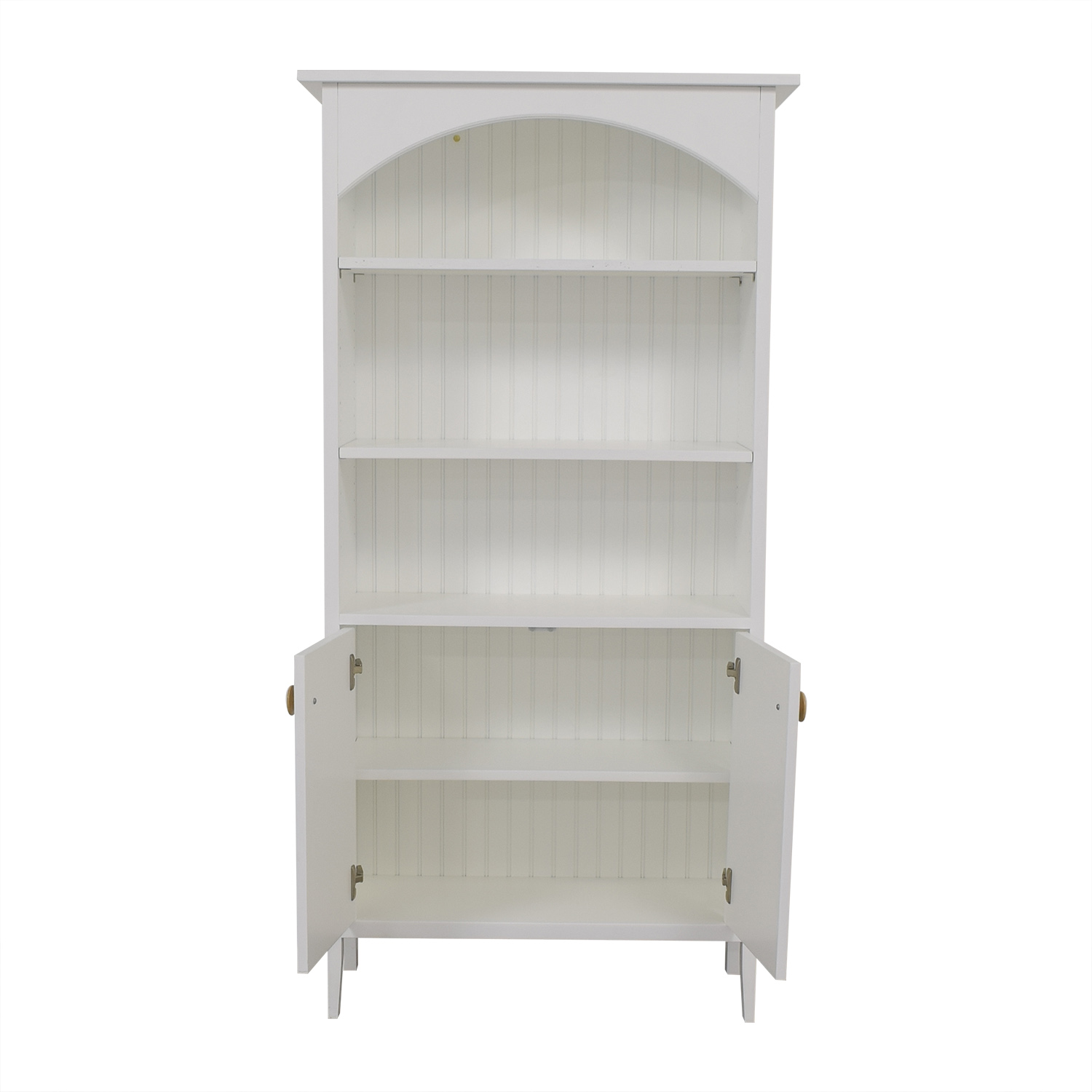 buy Maine Cottage Great Island Bookshelf with Doors Maine Cottage Bookcases & Shelving