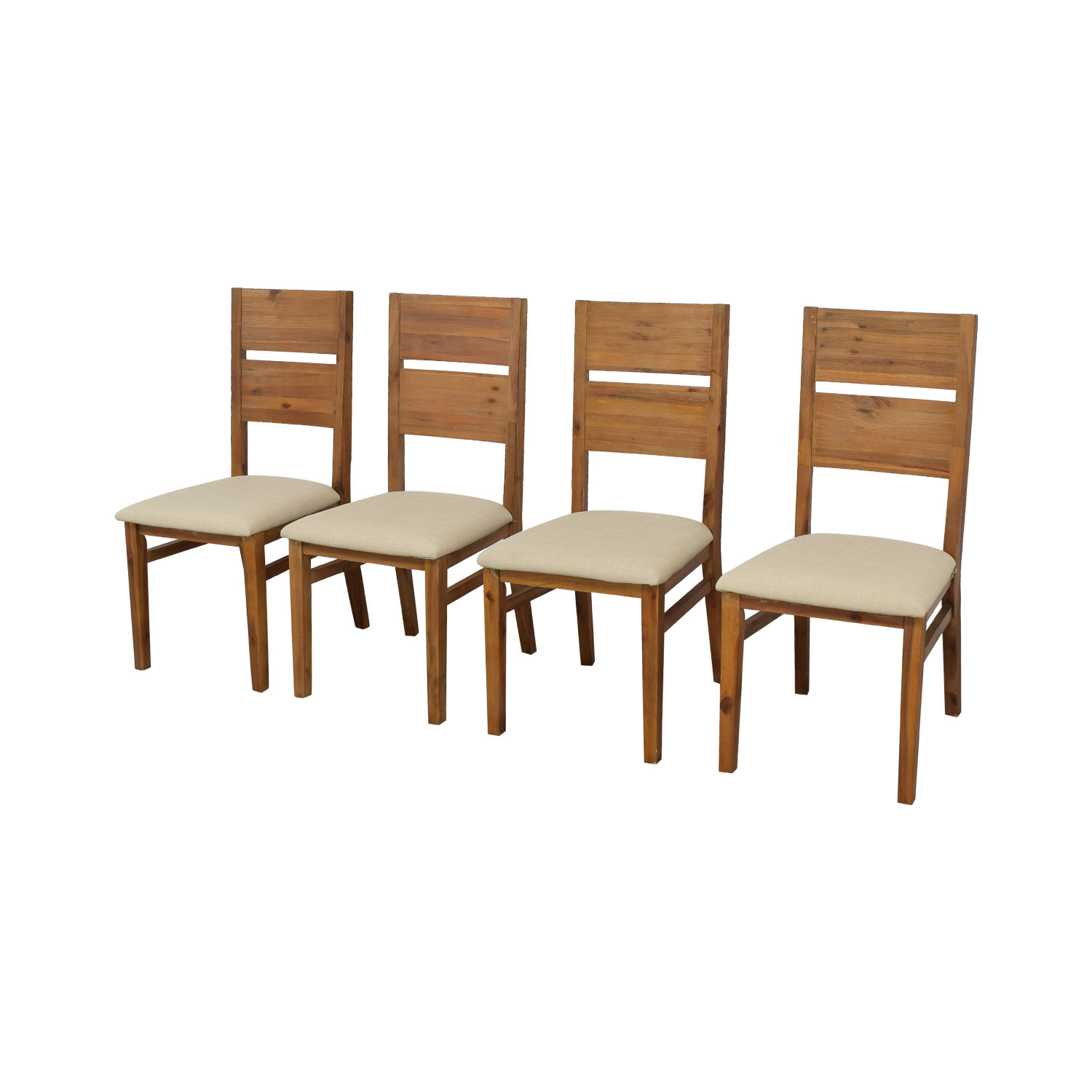 Macy's Macy's Dining Chairs brown & beige