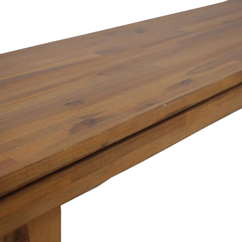 Cresent Furniture Cresent Fine Furniture Bench brown