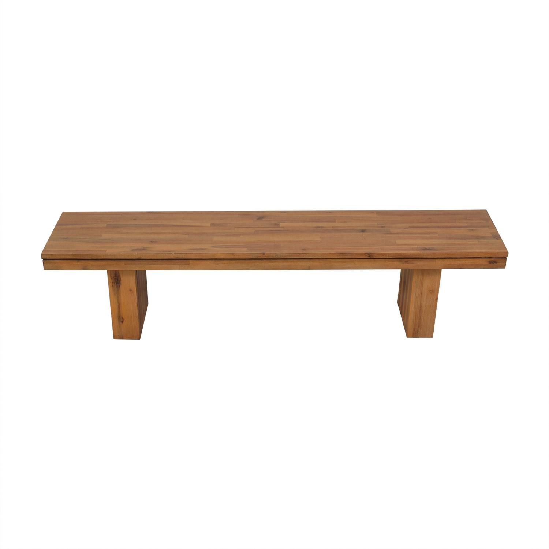 Cresent Furniture Cresent Fine Furniture Bench on sale