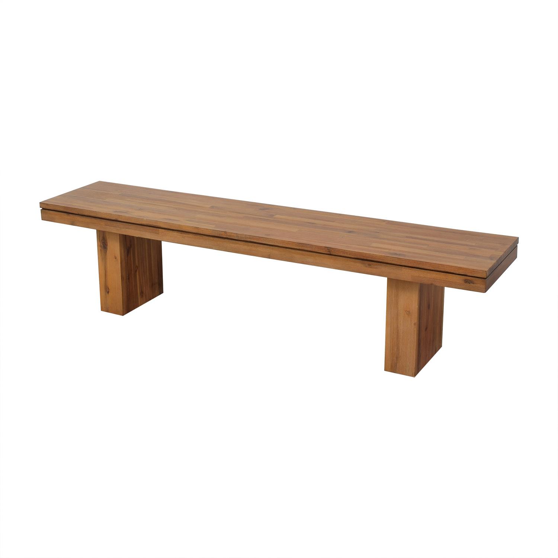buy Cresent Fine Furniture Bench Cresent Furniture
