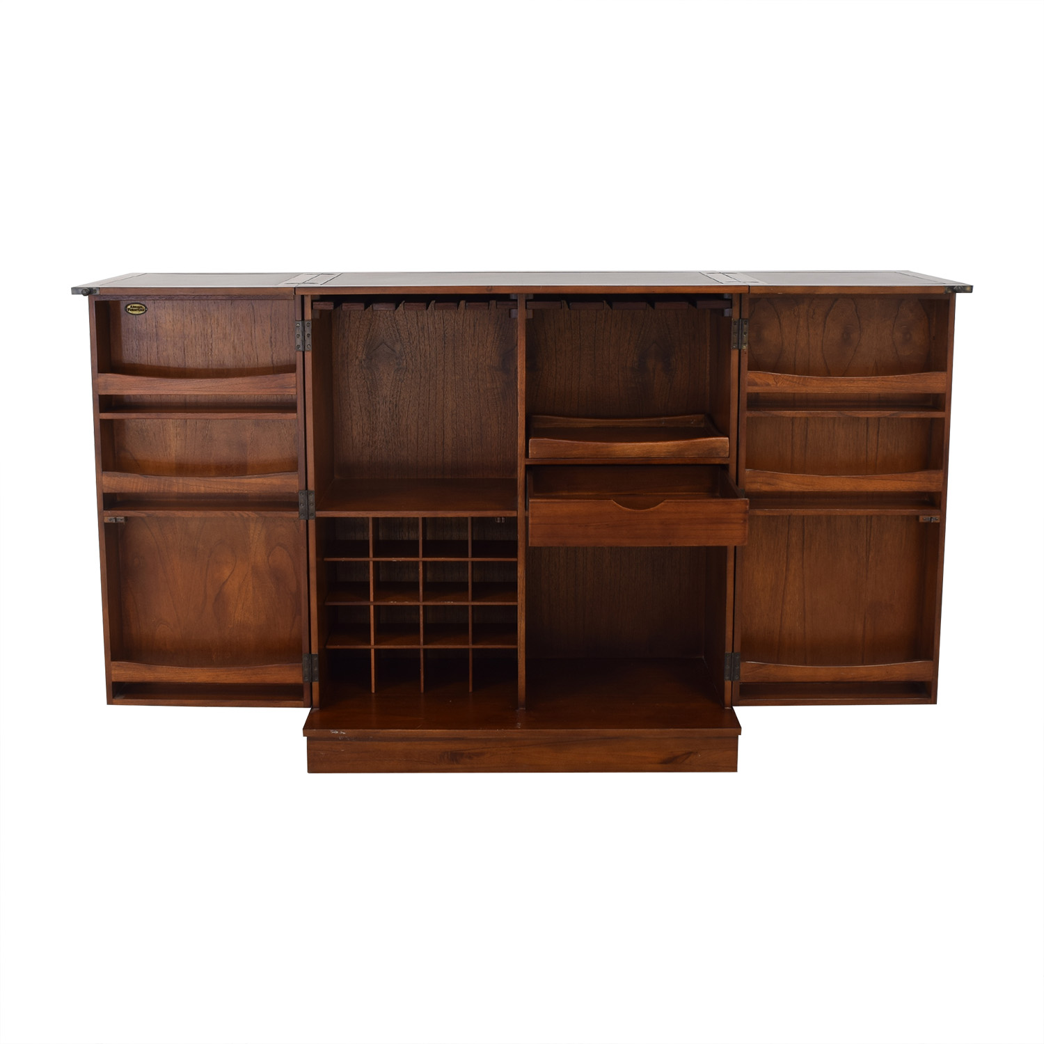 Arhaus Expandable Wine Bar / Cabinets & Sideboards