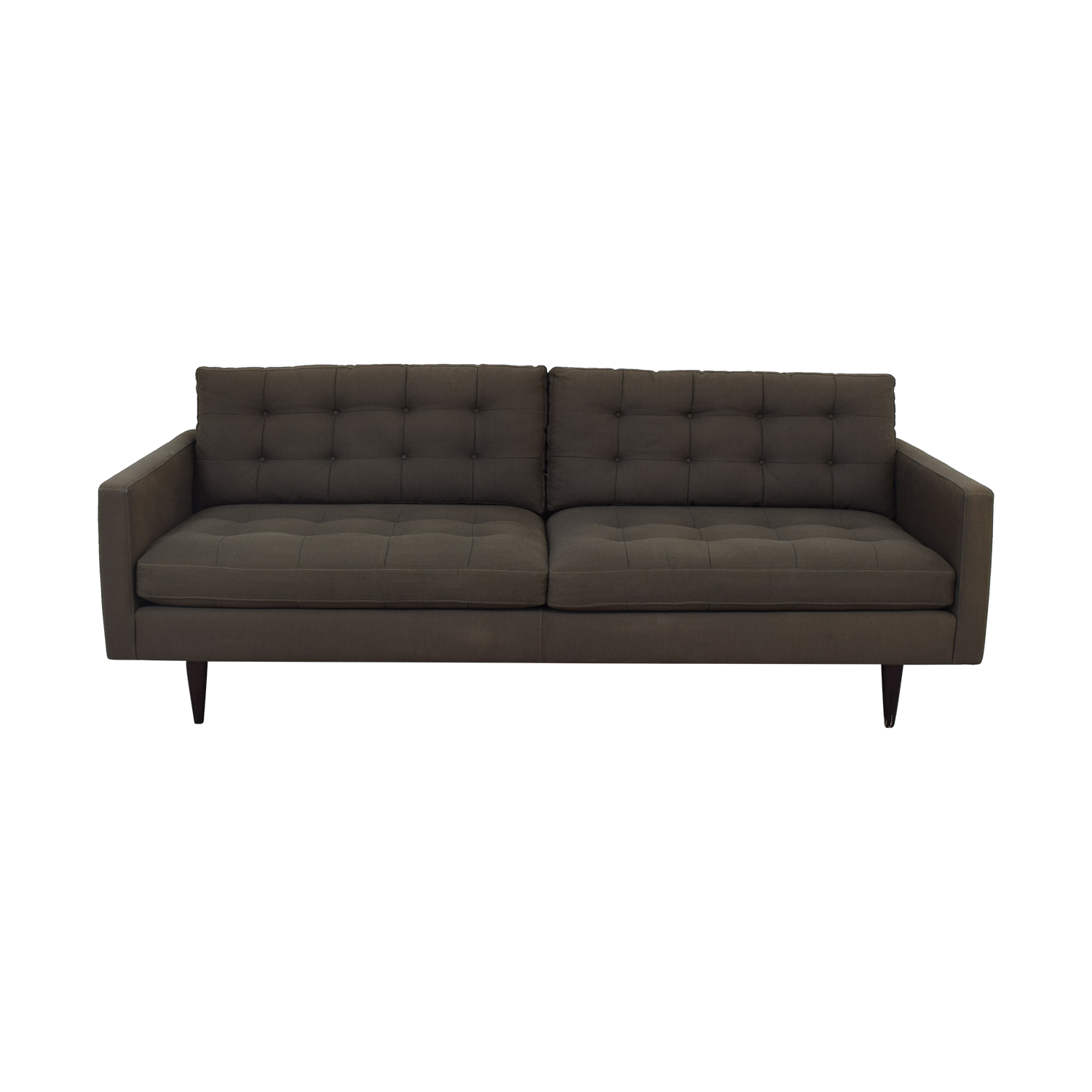 Crate & Barrel Crate & Barrel Petrie Mid-Century Sofa discount