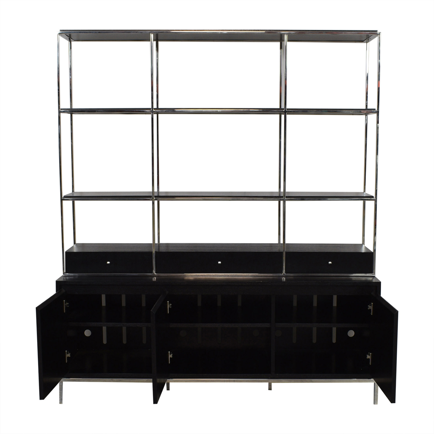 buy Mitchell Gold + Bob Williams Manning Media Console and Bookshelf Mitchell Gold + Bob Williams Media Units