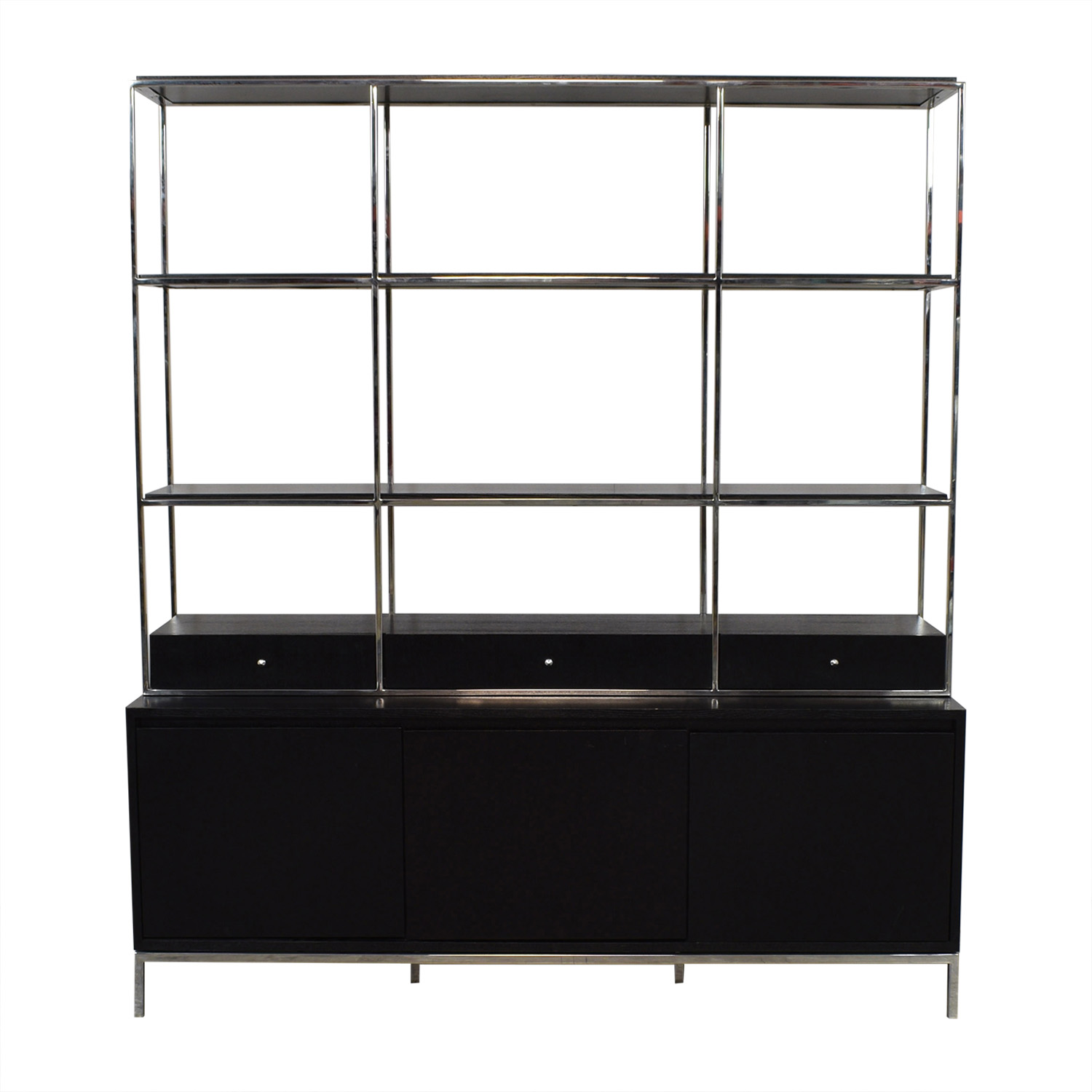 shop Mitchell Gold + Bob Williams Manning Media Console and Bookshelf Mitchell Gold + Bob Williams