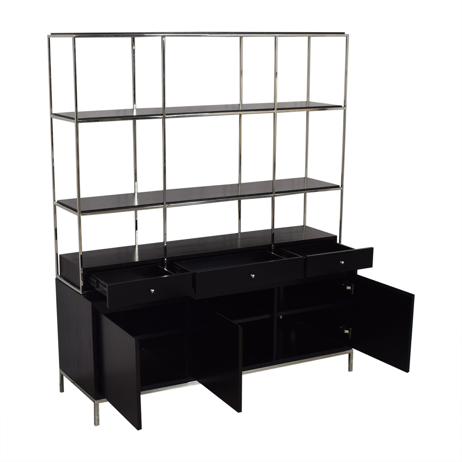Mitchell Gold + Bob Williams Manning Media Console and Bookshelf / Media Units