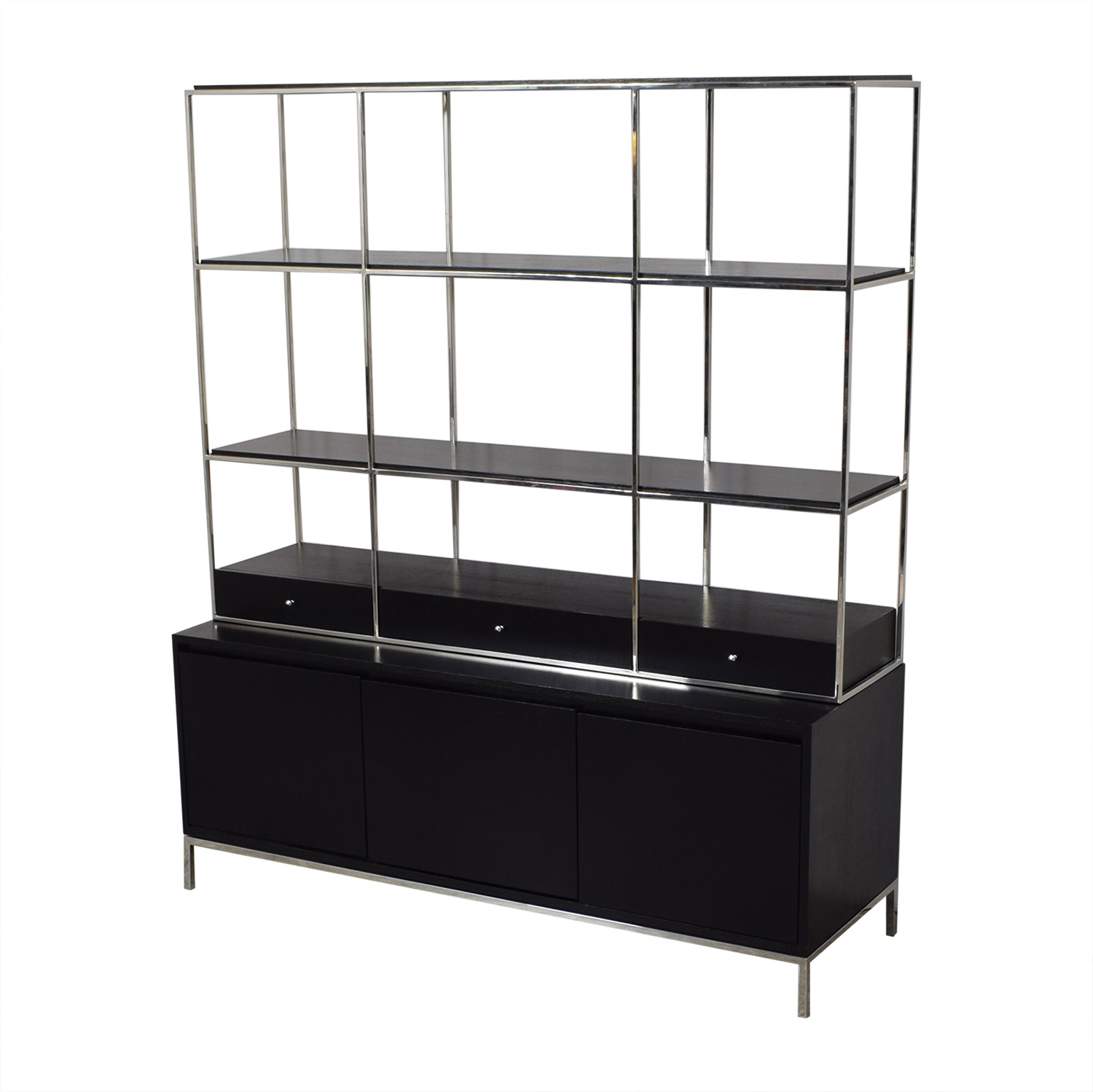 shop Mitchell Gold + Bob Williams Manning Media Console and Bookshelf Mitchell Gold + Bob Williams Storage