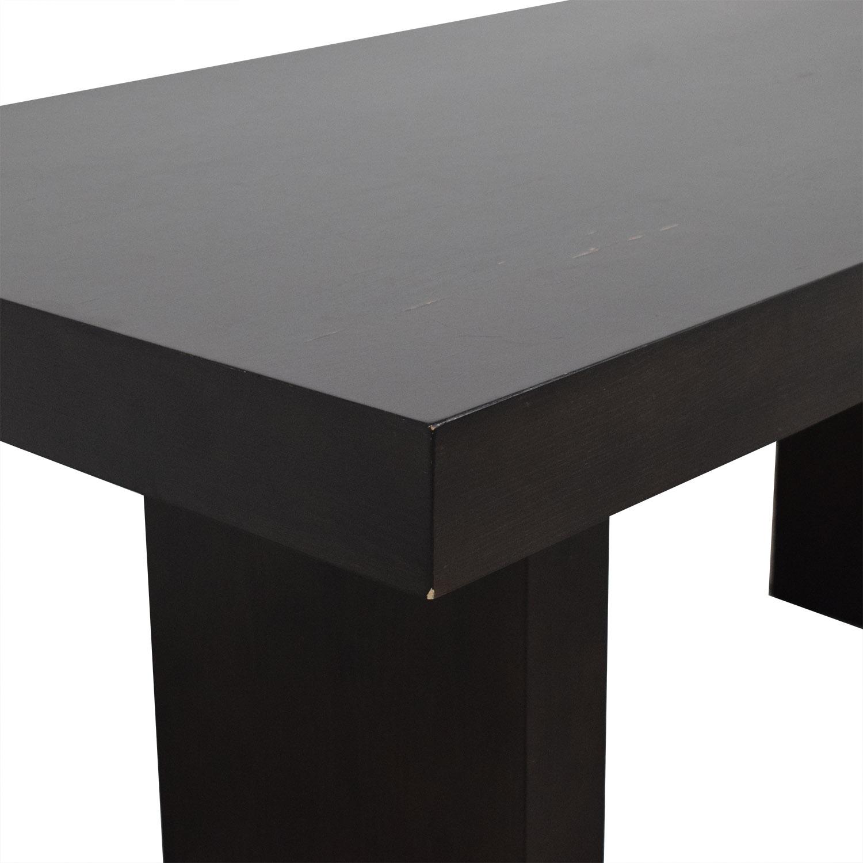 West Elm West Elm Terra Dining Table black