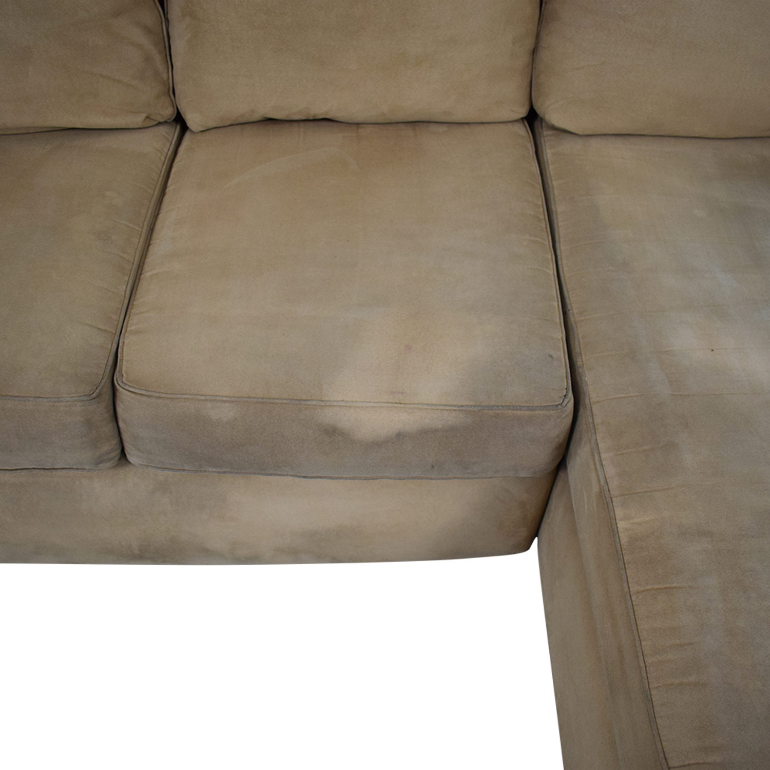 Sectional Right Side Chaise Sofa second hand