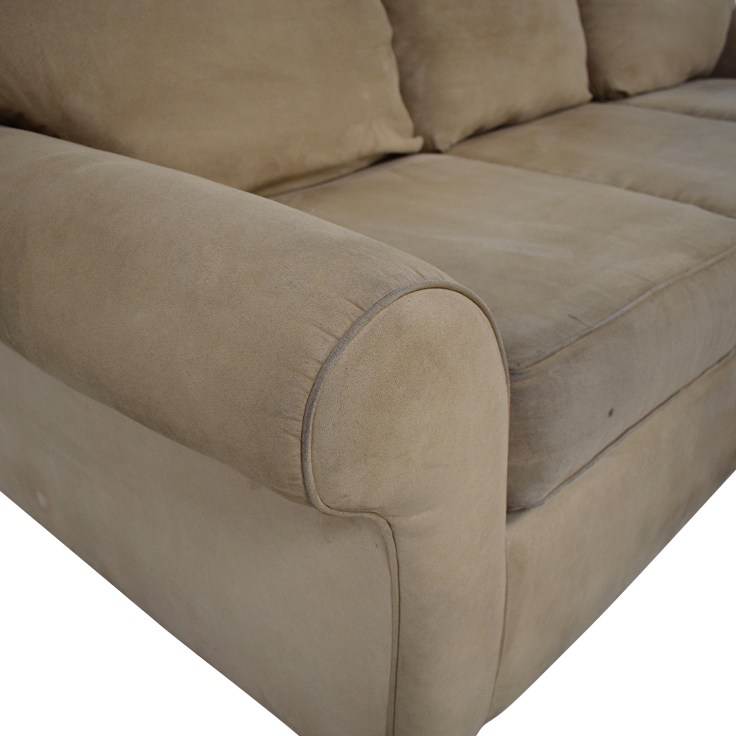 Sectional Right Side Chaise Sofa tan