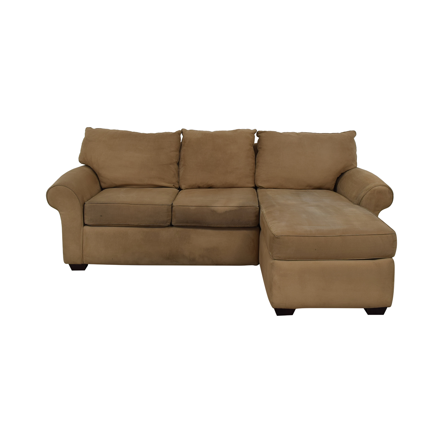 42% OFF - Sectional Right Side Chaise Sofa / Sofas