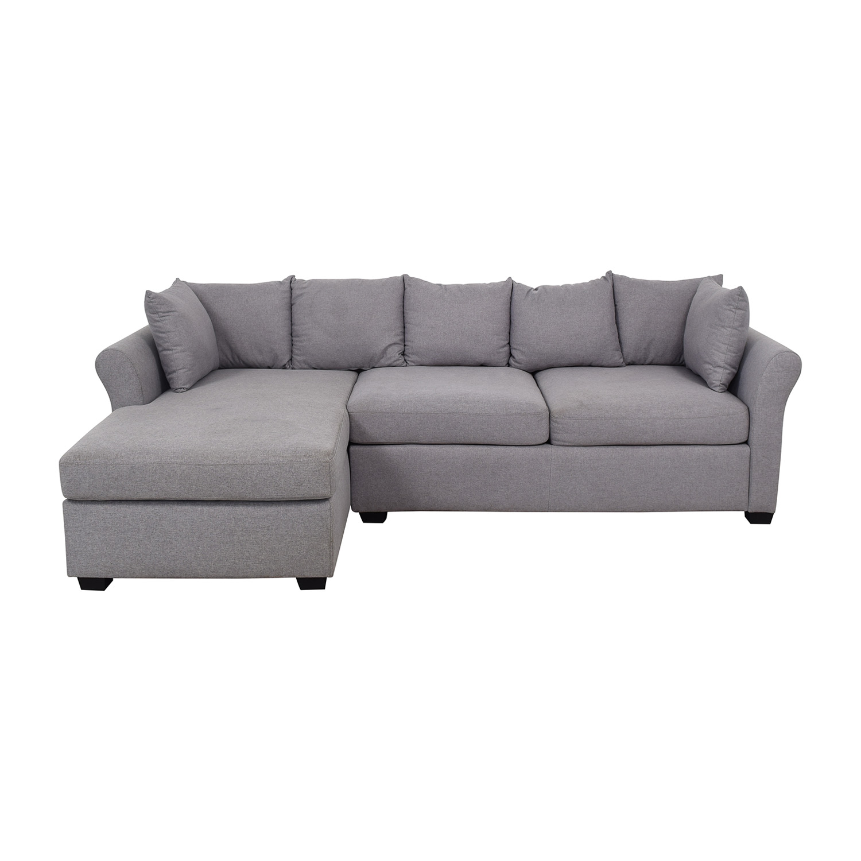 California Sofa California Sofa Sectional with Chaise