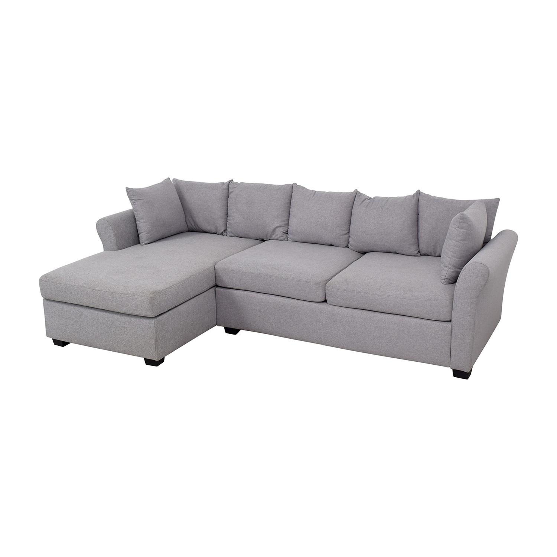 California Sofa Sectional with Chaise California Sofa