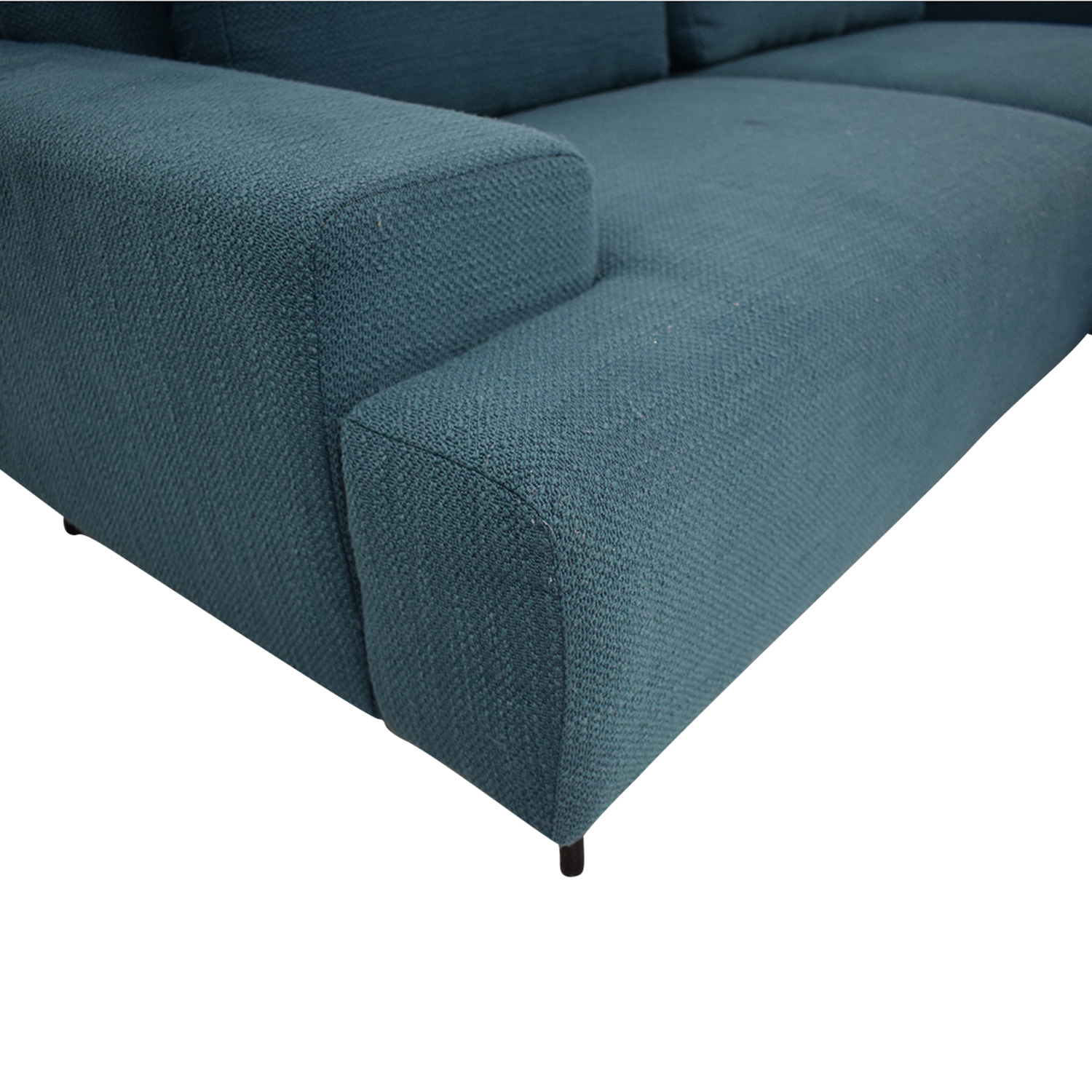 West Elm West Elm Two Piece Chaise Sectional Sofa coupon