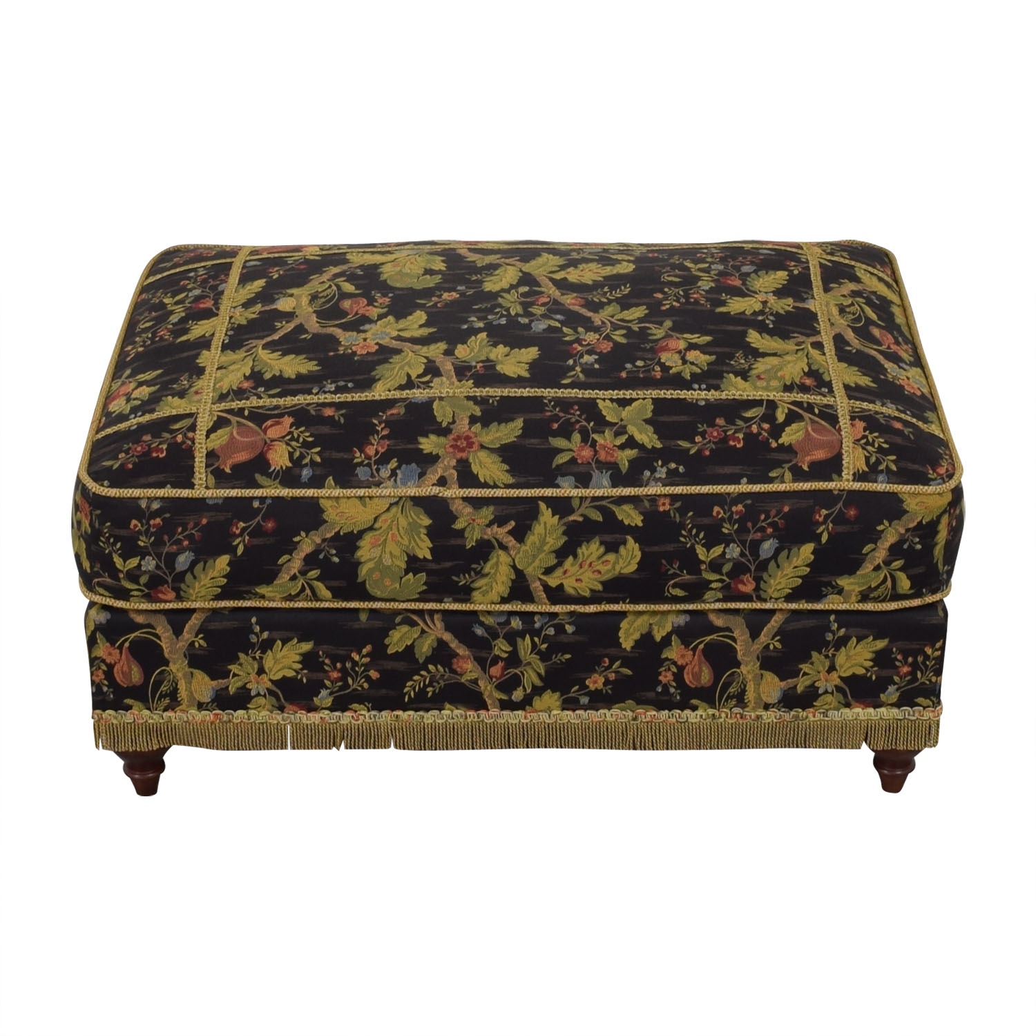 Domain Home Domain Home Emily II Victorian-Style Ottoman used