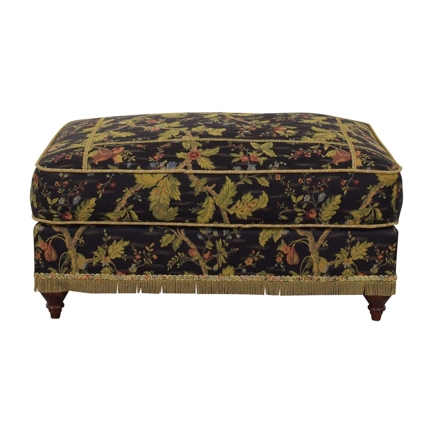 Domain Home Domain Home Emily II Victorian-Style Ottoman second hand