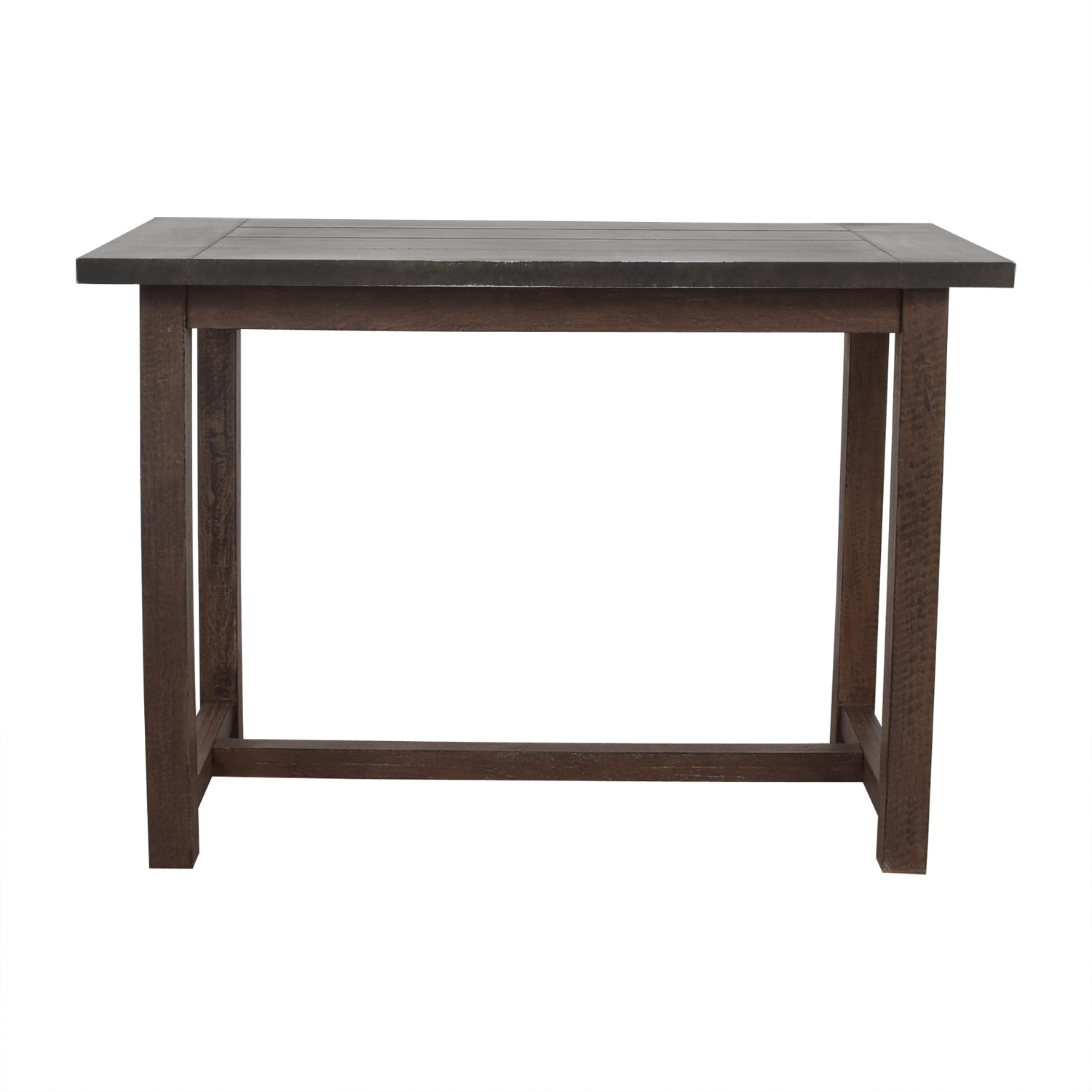 Crate & Barrel Crate & Barrel Galvin High Dining Table discount