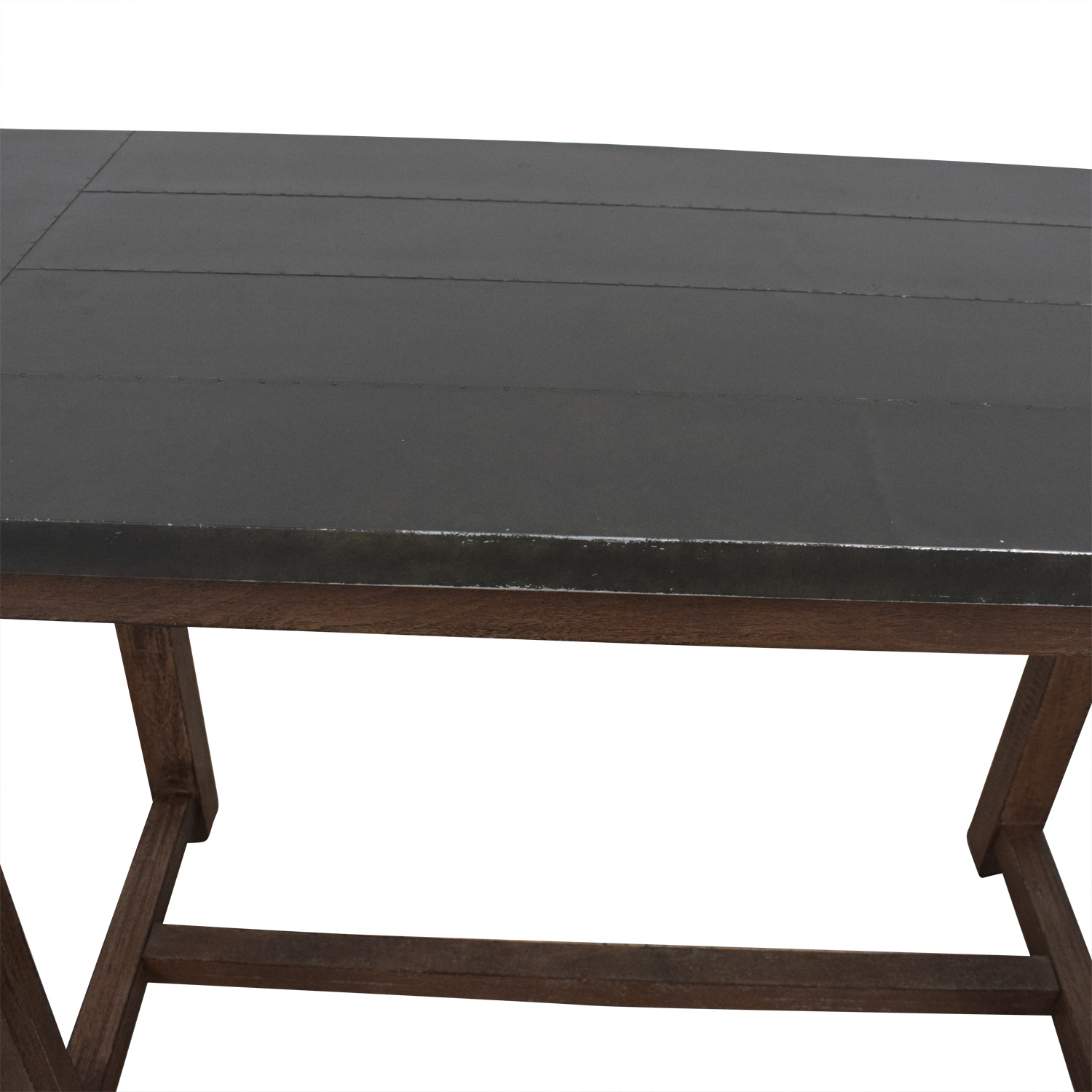Crate & Barrel Crate & Barrel Galvin High Dining Table price