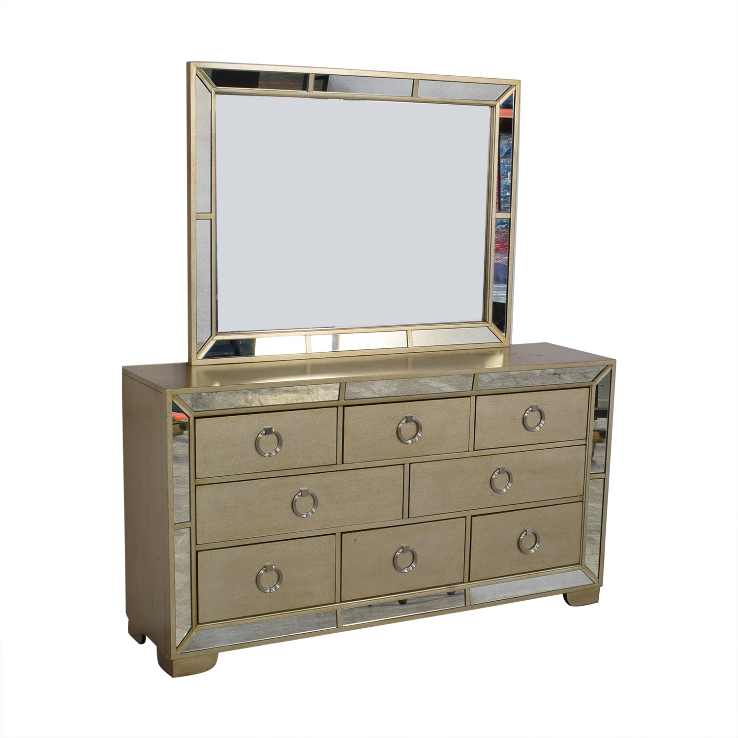Macy's Macy's Ailey Collection Dresser with Mirror second hand