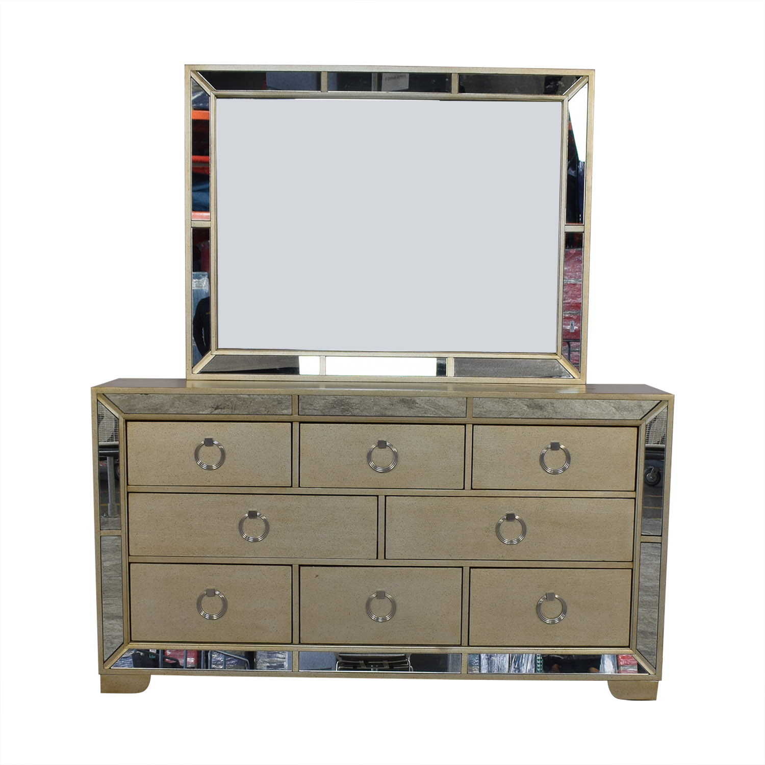 Macy's Ailey Collection Dresser with Mirror / Dressers