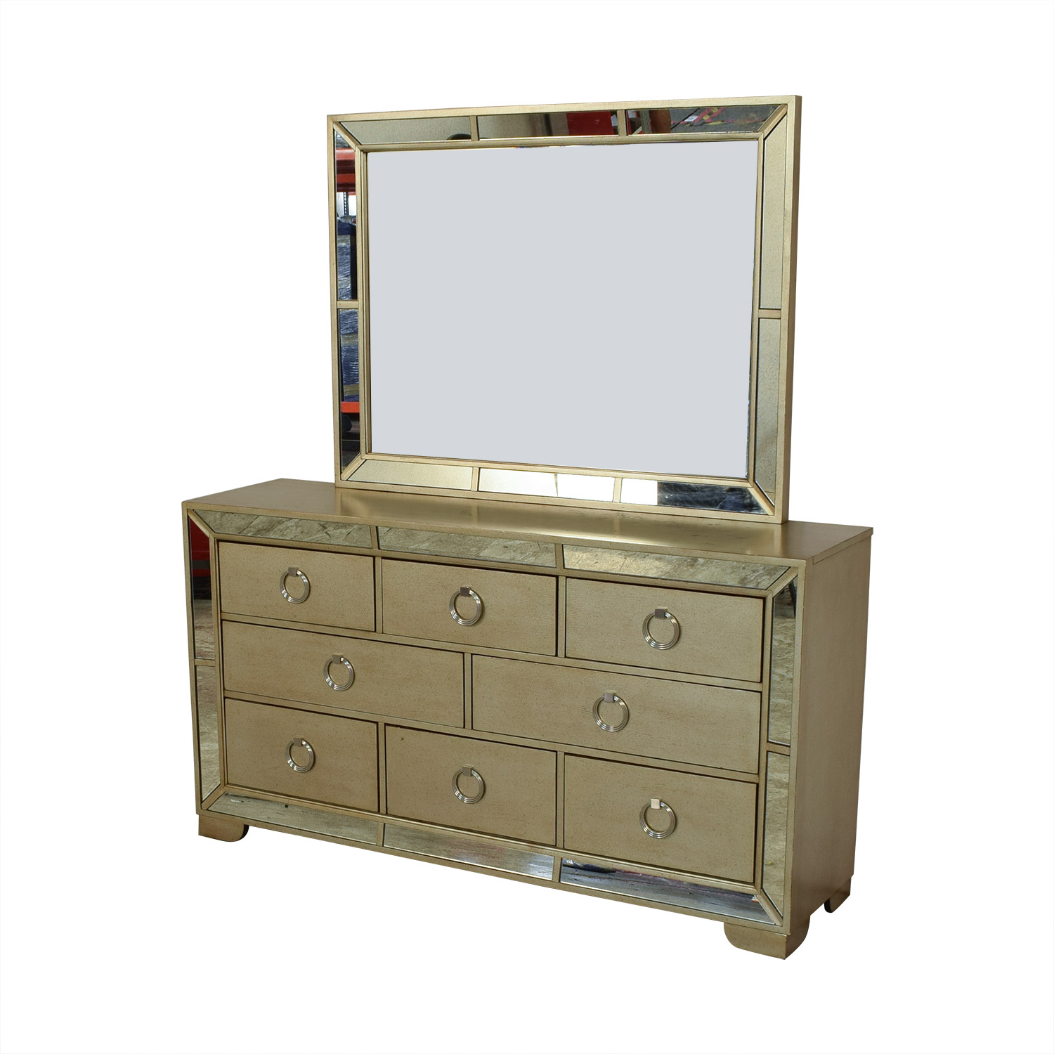 Macy's Macy's Ailey Collection Dresser with Mirror on sale