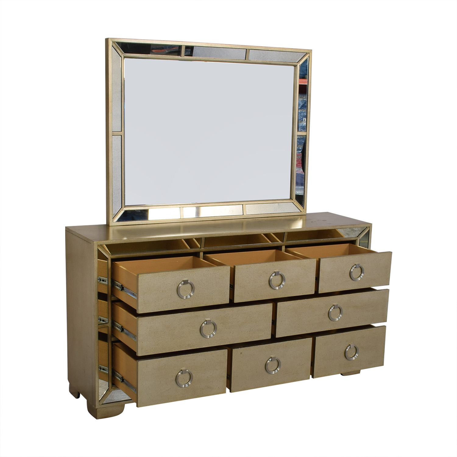 shop Macy's Ailey Collection Dresser with Mirror Macy's Storage