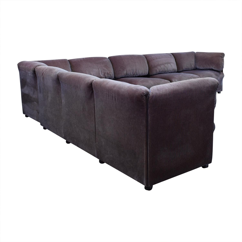 Cassina Cassina L Shaped Sectional Sofa coupon