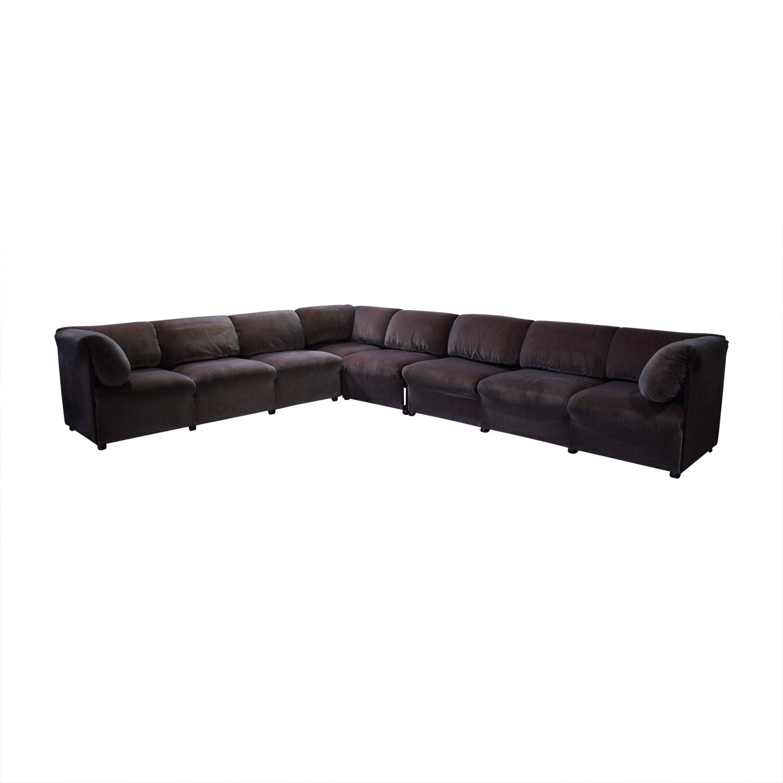 Cassina Cassina L Shaped Sectional Sofa second hand