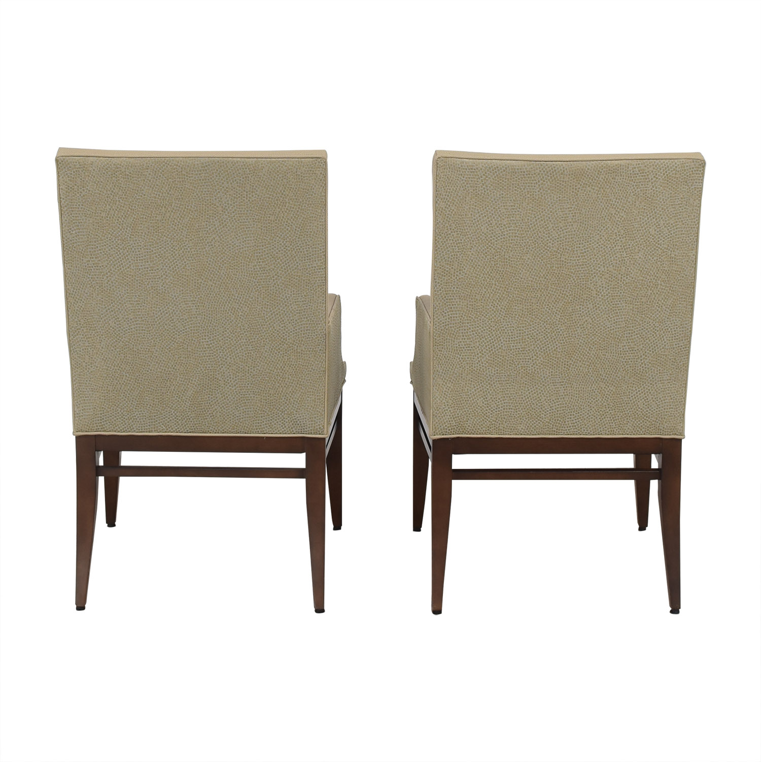 Duralee Duralee Custom Upholstered Dining Arm Chairs on sale