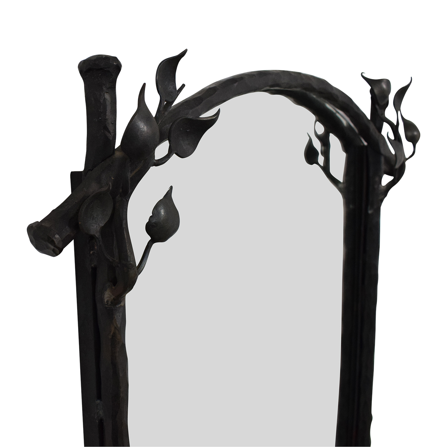 Mirror with Metal Working on sale