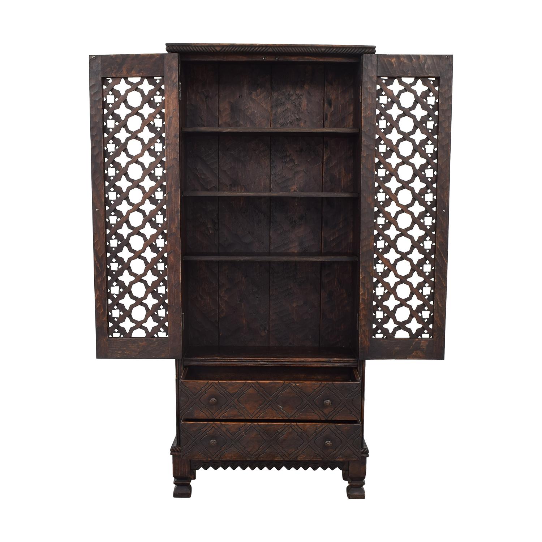 buy Screened Door Wardrobe  Wardrobes & Armoires