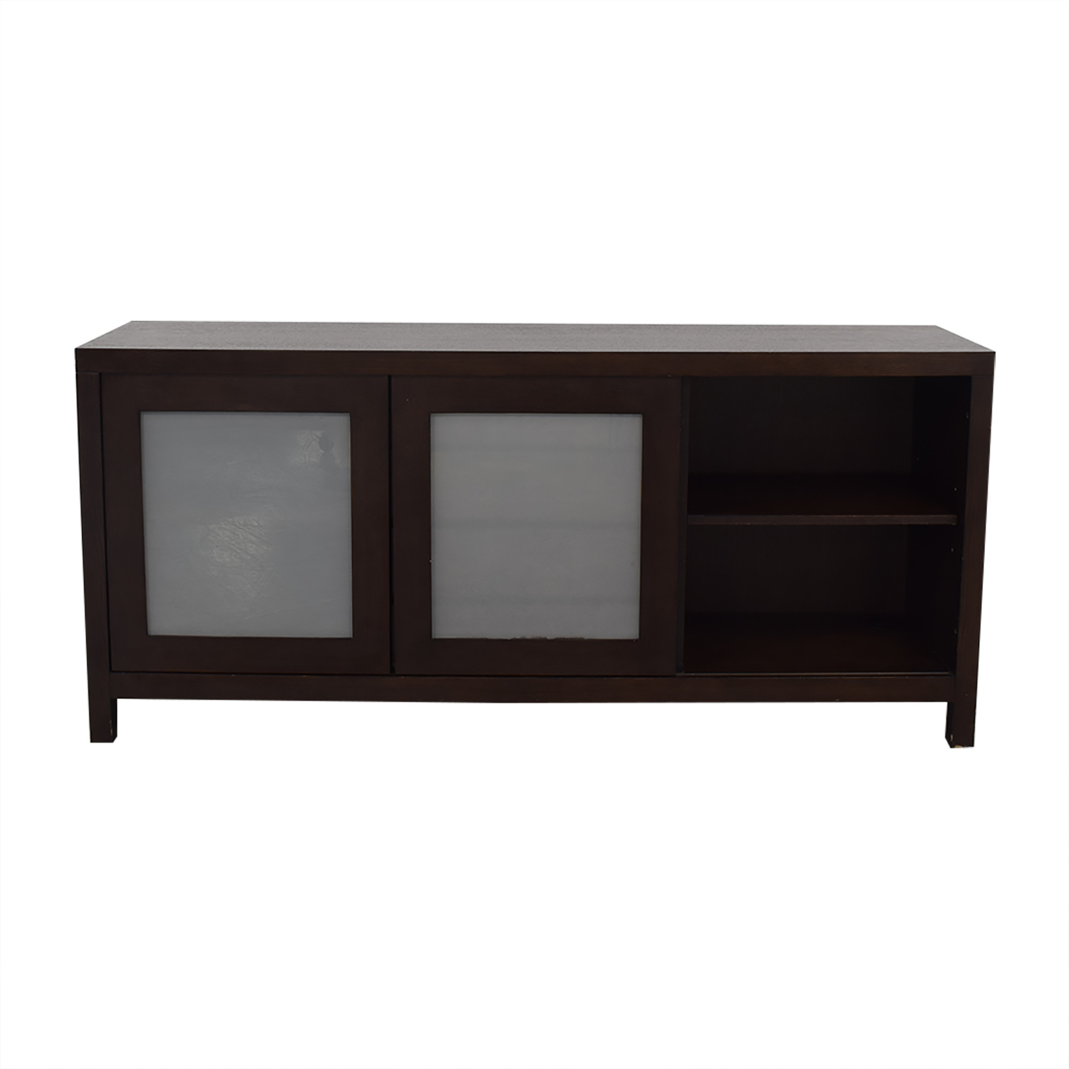 buy Crate & Barrel Sideboard with Cabinets Crate & Barrel