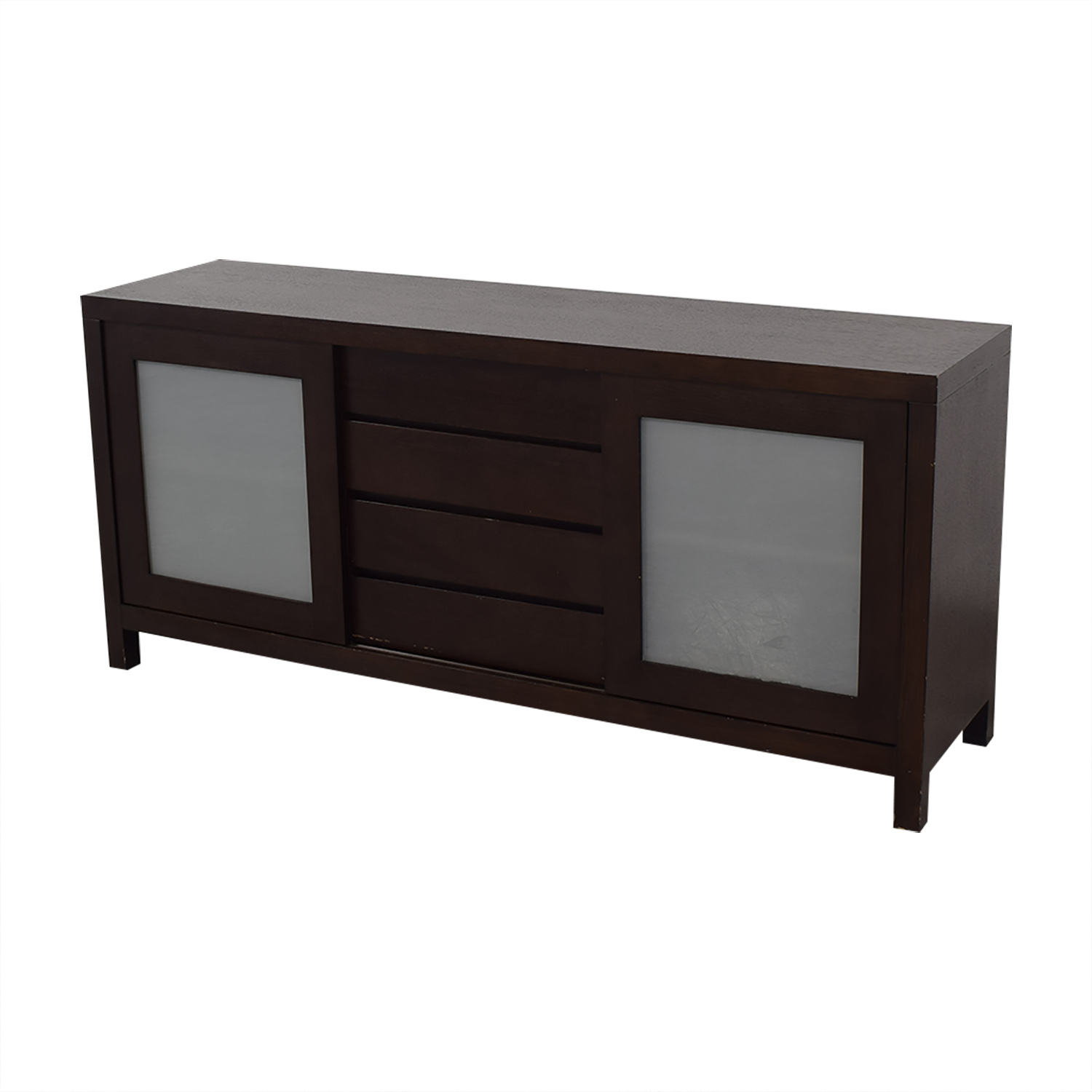 Crate & Barrel Crate & Barrel Sideboard with Cabinets discount
