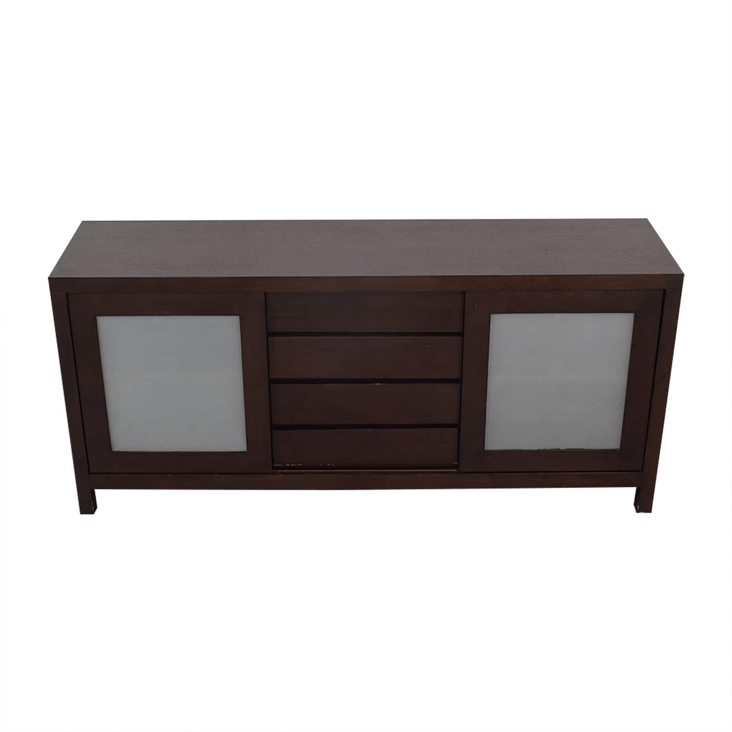 Crate & Barrel Crate & Barrel Sideboard with Cabinets nyc