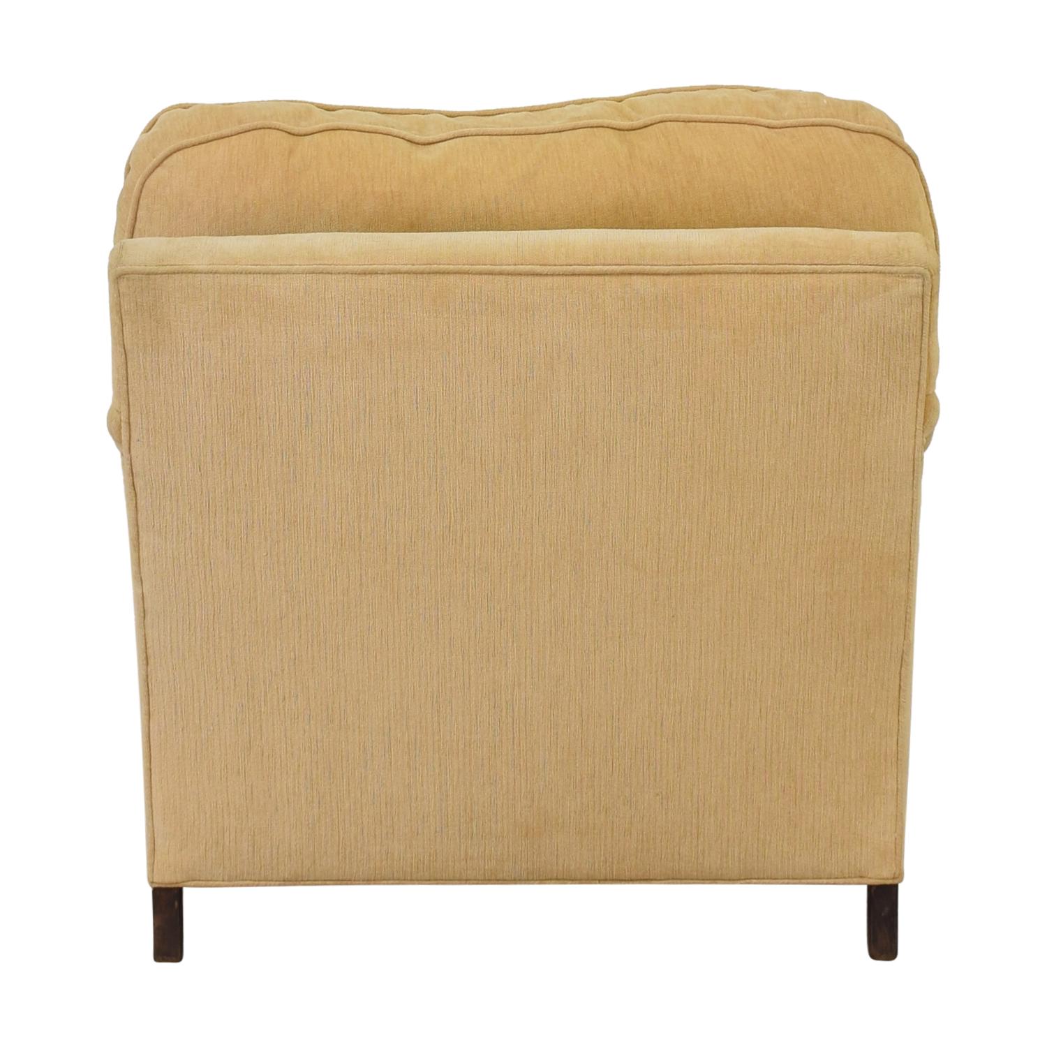 Upholstered Side Chair yellow