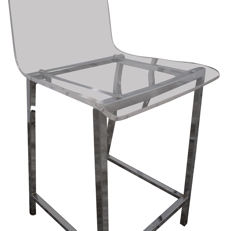 CB2 Chiaro Bar Stools / Chairs