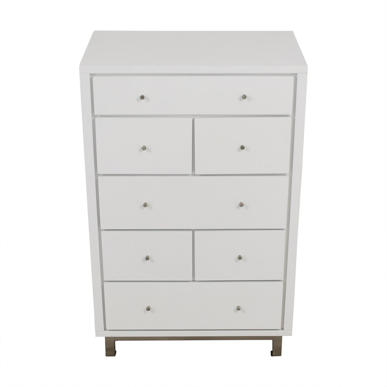 Crate & Barrel Crate & Barrel Cubix Seven Drawer Chest Dressers