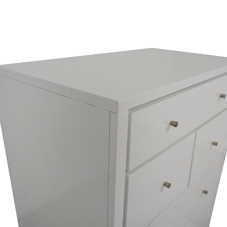 Crate & Barrel Crate & Barrel Cubix Seven Drawer Chest dimensions
