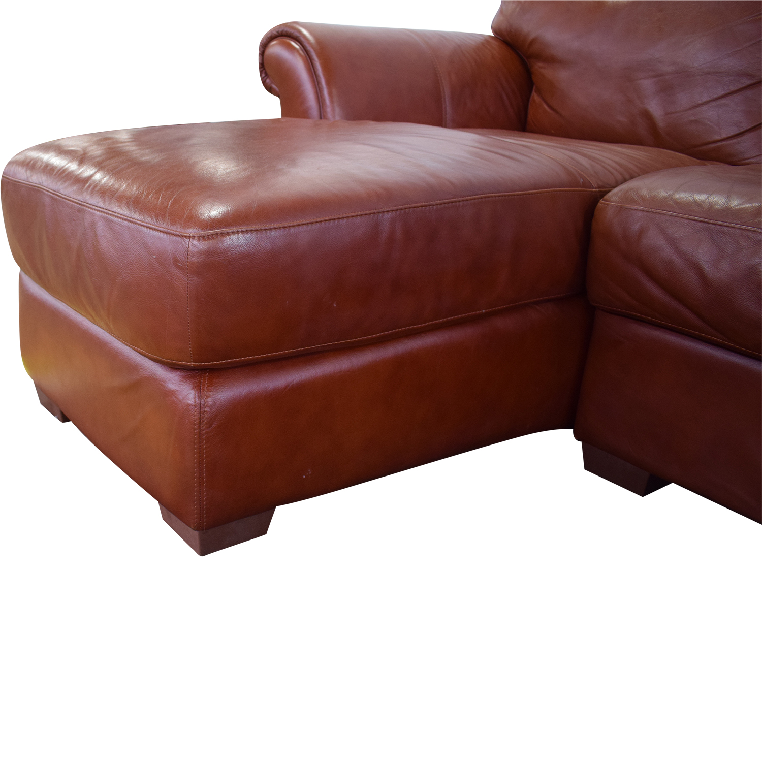 buy Chateau d'Ax Leather Sectional Chateau d'Ax